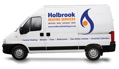 Photo: One of Holbrook Heatings Service Vans